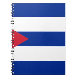 Cuban Flag - Bandera Cubana - Flag of Cuba Notebook