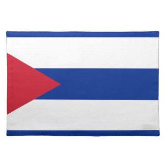 Cuban Flag - Bandera Cubana - Flag of Cuba Placemat