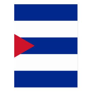 Cuban Flag - Bandera Cubana - Flag of Cuba Postcard