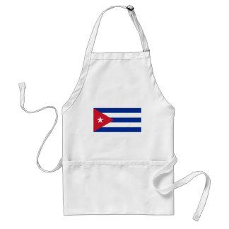 Cuban Flag - Bandera Cubana - Flag of Cuba Standard Apron