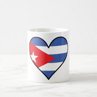 Cuban Flag Heart Coffee Mug