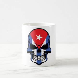 Cuban Flag Skull Coffee Mug