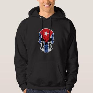 Cuban Flag Skull Hoodie