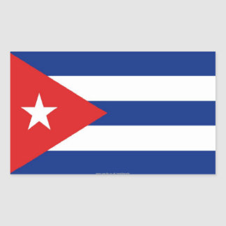 Cuban flag stickers