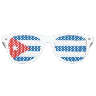 Cuban flag sunglasses