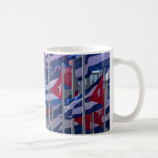 Cuban flags, Havana, Cuba Coffee Mug