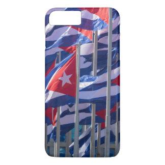 Cuban flags, Havana, Cuba iPhone 8 Plus/7 Plus Case