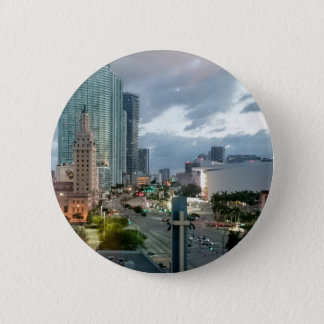 Cuban Freedom Tower in Miami 2 6 Cm Round Badge