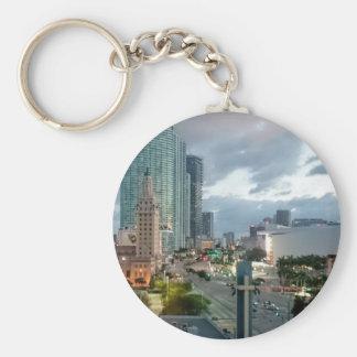 Cuban Freedom Tower in Miami 2 Key Ring