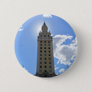 Cuban Freedom Tower in Miami 4 6 Cm Round Badge