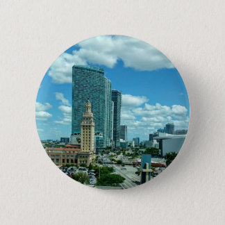 Cuban Freedom Tower in Miami 5 6 Cm Round Badge
