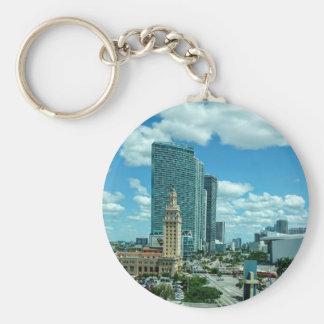 Cuban Freedom Tower in Miami 5 Key Ring
