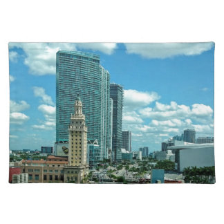 Cuban Freedom Tower in Miami 5 Placemat