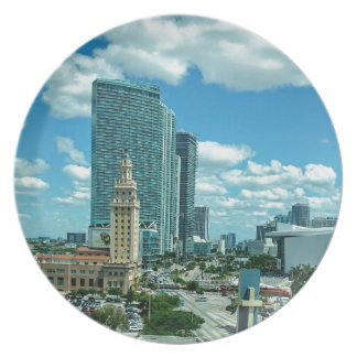 Cuban Freedom Tower in Miami 5 Plate