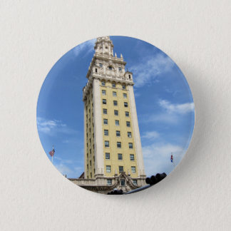 Cuban Freedom Tower in Miami 6 6 Cm Round Badge