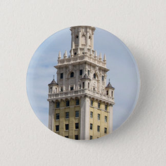 Cuban Freedom Tower in Miami 6 Cm Round Badge