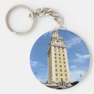 Cuban Freedom Tower in Miami 6 Key Ring