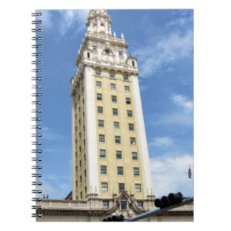 Cuban Freedom Tower in Miami 6 Spiral Notebook