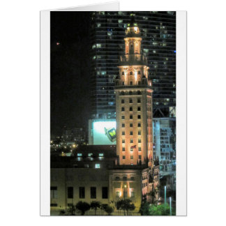 Cuban Freedom Tower in Miami 7 Card