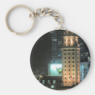 Cuban Freedom Tower in Miami 7 Key Ring