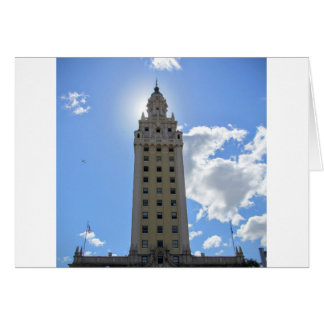 Cuban Freedom Tower in Miami Card