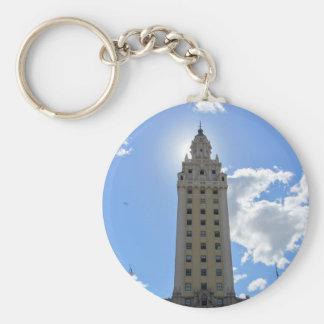 Cuban Freedom Tower in Miami Key Ring