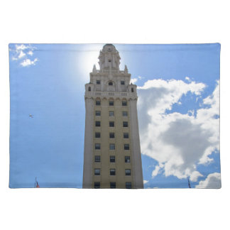 Cuban Freedom Tower in Miami Placemat