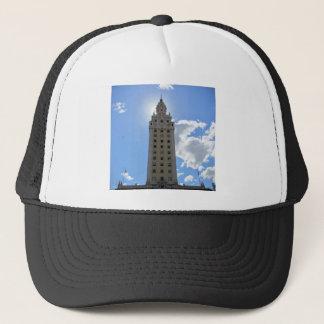 Cuban Freedom Tower in Miami Trucker Hat