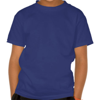 Cuban Girl Silhouette Flag T Shirt