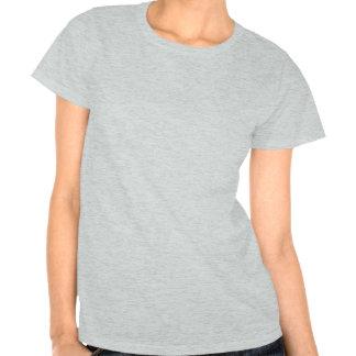Cuban Girl Silhouette Flag Tee Shirts