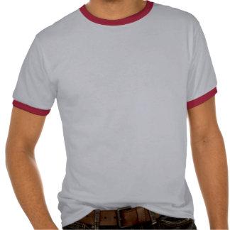 Cuban Girl Silhouette Flag T-shirt