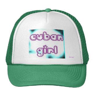Cuban Girl Tag Cap