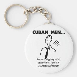 Cuban Men Are Best Key Ring