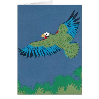 Cuban Parrot Card