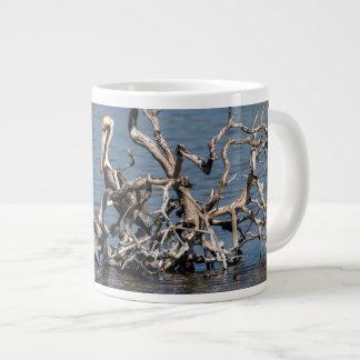 Cuban Pelicans Large Coffee Mug