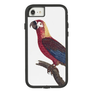 Cuban Red Macaw Parrot Bird iPhone 7 8 Case
