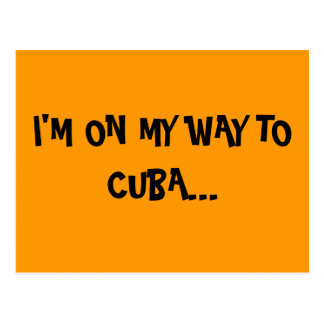 CUBAN VIBES POSTCARD