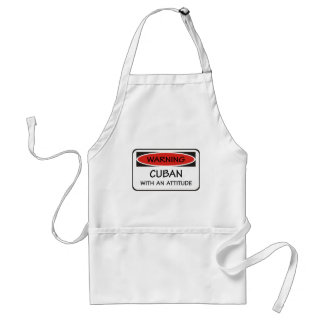 Cuban With An Attitude Standard Apron