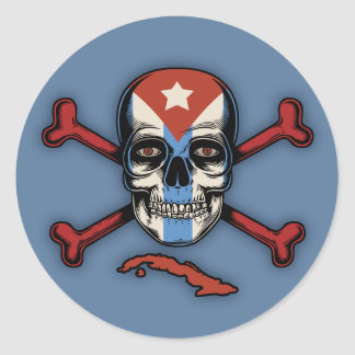 Cubans of the Caribbean Classic Round Sticker