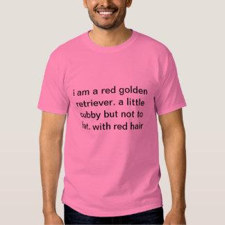 Cubby golden retriever t shirt