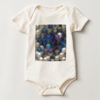 Cube Baby Bodysuit