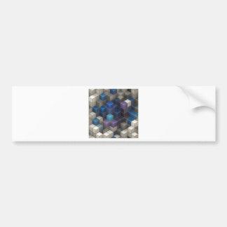 Cube Bumper Sticker