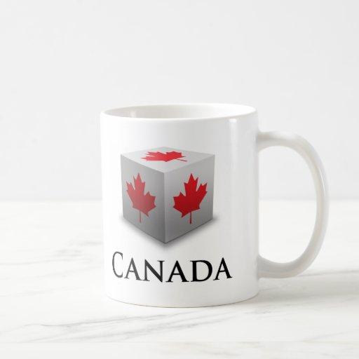 Cube Canada Basic White Mug