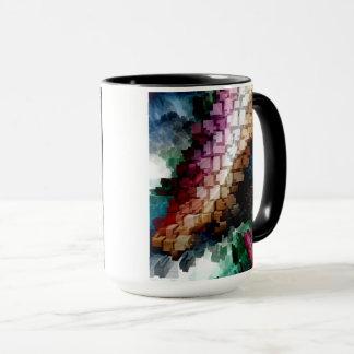 Cube Centric Dark Wind Mug