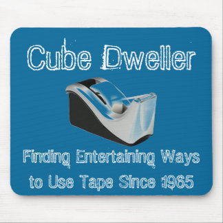 Cube Dweller Mousepad (Blue)