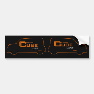 Cube Nissan Cube Like Stickers