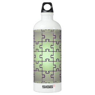 Cube perspective made of puzzles SIGG traveller 1.0L water bottle