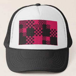 cube square block shape creative trucker hat