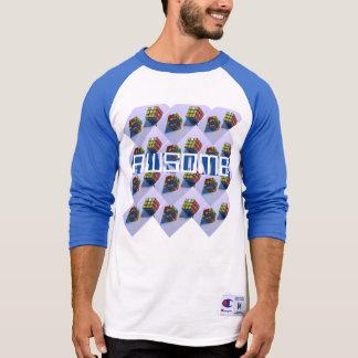 Cube Style: Men's Champion Raglan 3/4 Sleeve Shirt