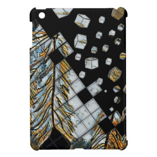 Cubed Abstract Feathers iPad Mini Cases